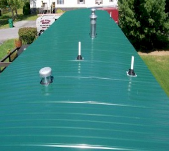 Mobile Home Flat Roof Replacement - Mobile Home Roof Repair Glasgow, Kentucky
